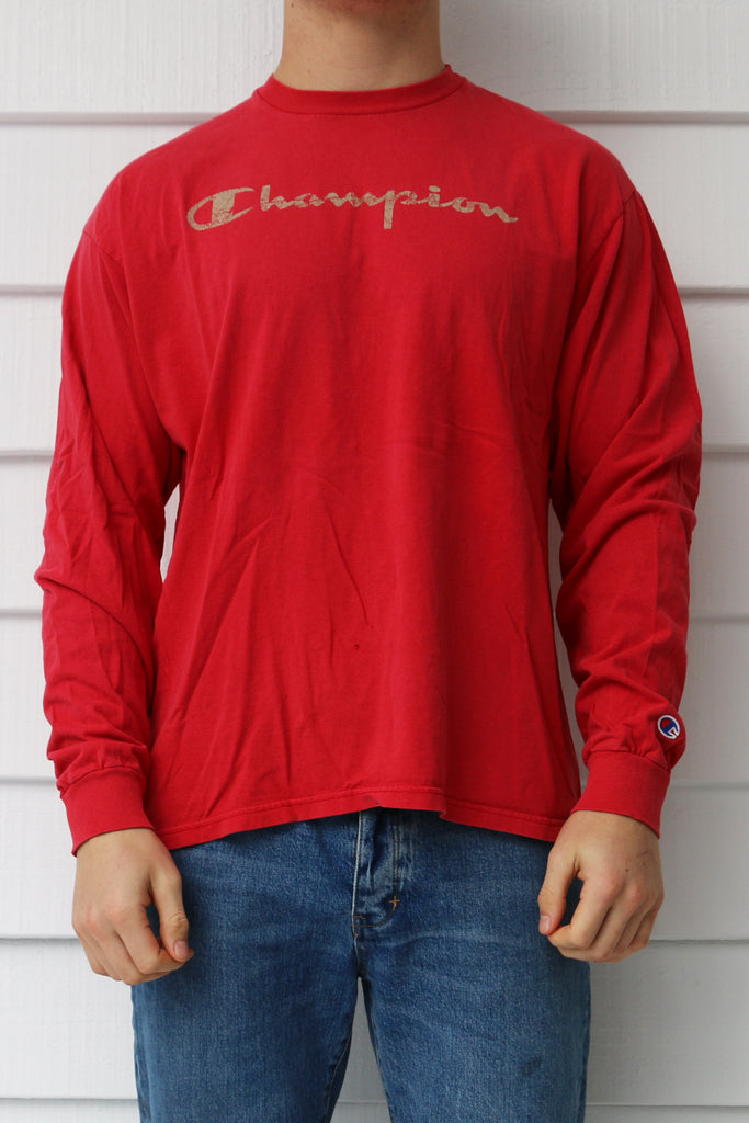 Vintage Champion Long Sleeve Tee *XL*