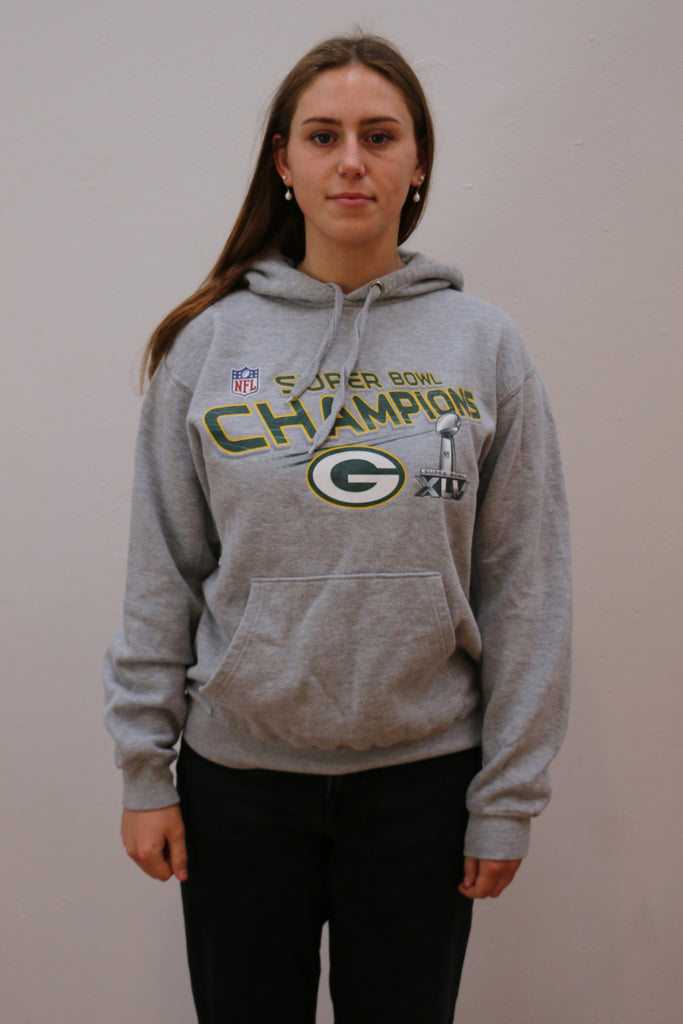 Vintage Green Bay Packers Super Bowl Champions Hoodie *M*