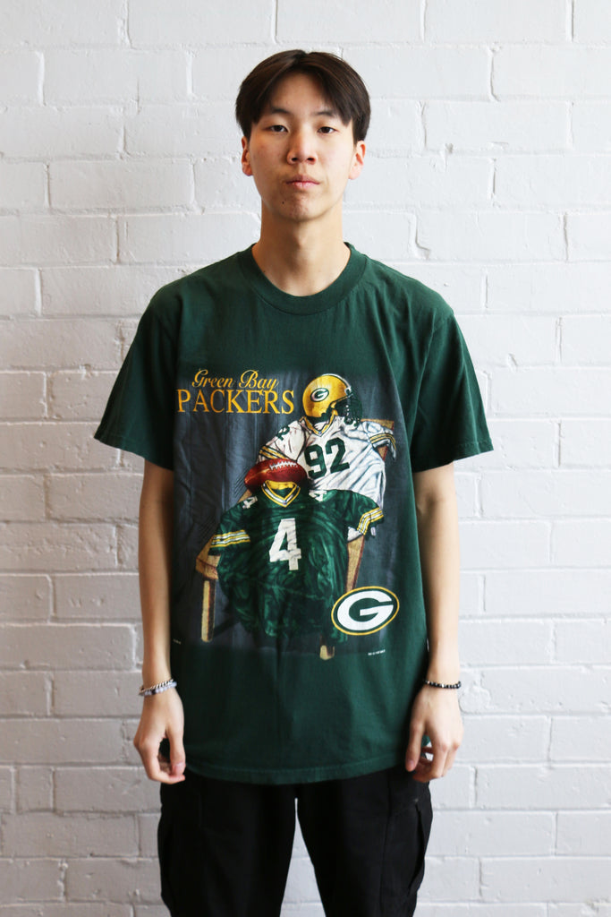 Vintage Green Bay Packers Tee *M*