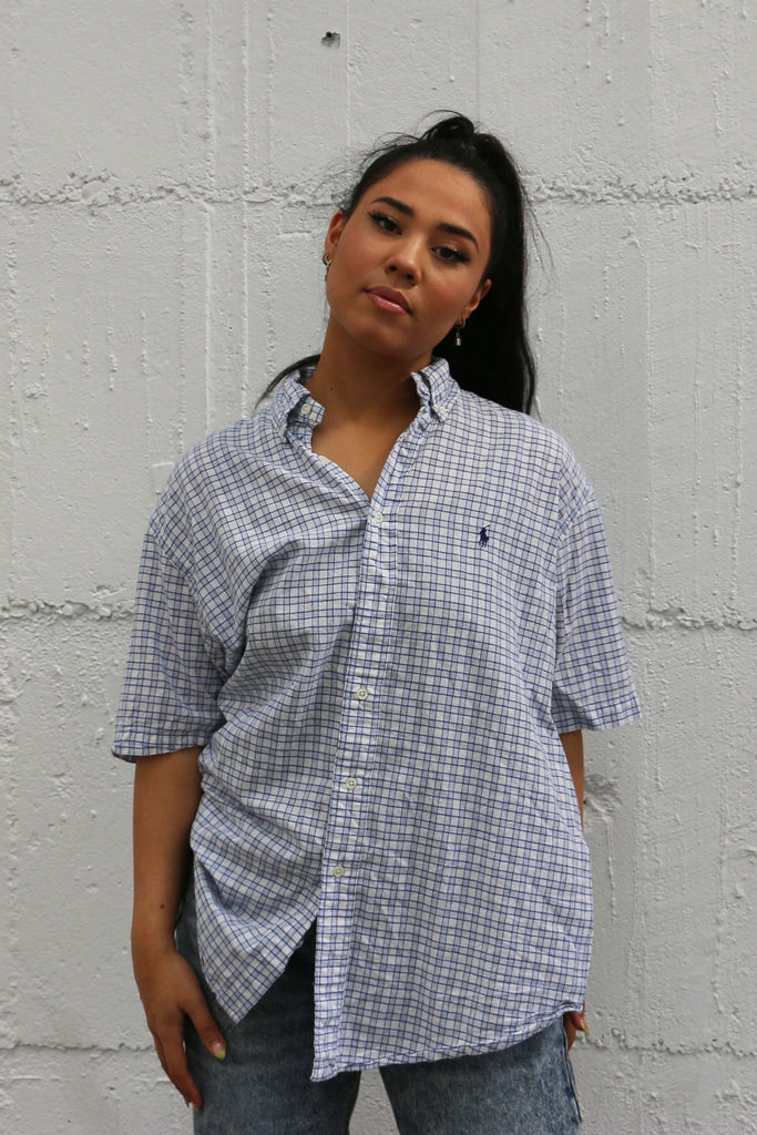Vintage Ralph Lauren Short Sleeve Shirt L