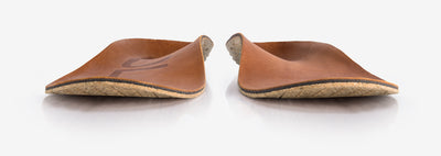 SOLE Casual Medium Cork and Leather Insoles – front view