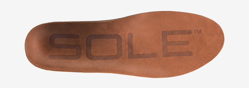 SOLE Casual Medium Cork and Leather Insoles – side view