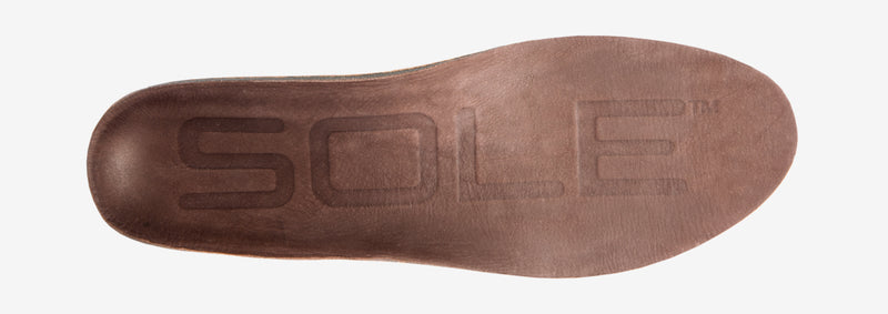 SOLE Casual Thick Eco Cork & Leather Orthopaedic Insole – side view