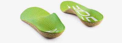 SOLE Active Medium Orthotic Cork Insole with Met Pad