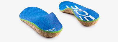 SOLE Active Thick Orthotic Cork Insole with Met Pad