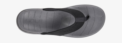 Men's Catalina Sport Flip Orthotic Sandal Black/Grey