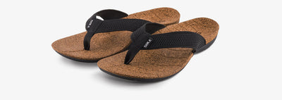 SOLE Men's Laguna Flip Orthotic Cork Sandal