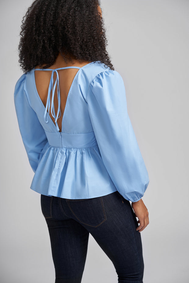 Olivia Balloon Sleeve Blouse
