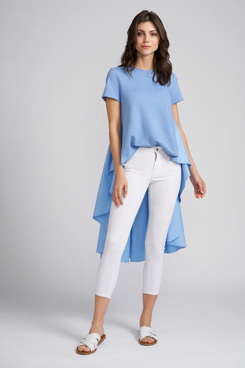 Piper High Low Short Sleeve Top