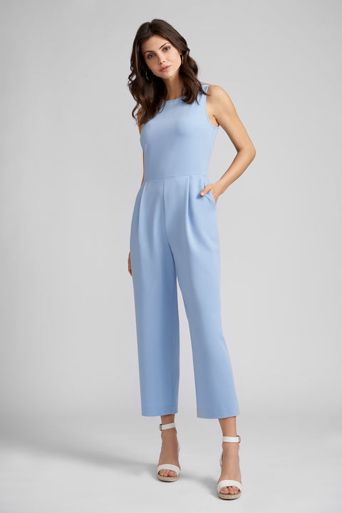 London Jumpsuit With Back Besom Pockets