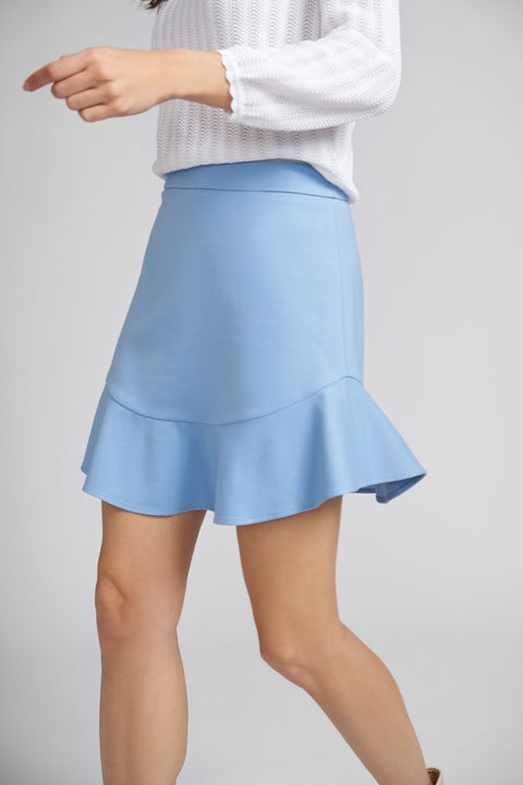 Mia Skirt with Flounce Hem
