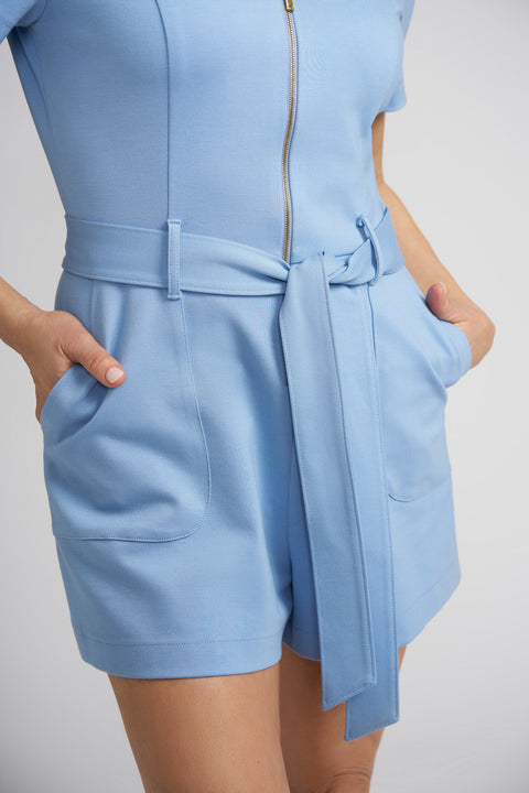 Paige Romper with Exposed Zipper