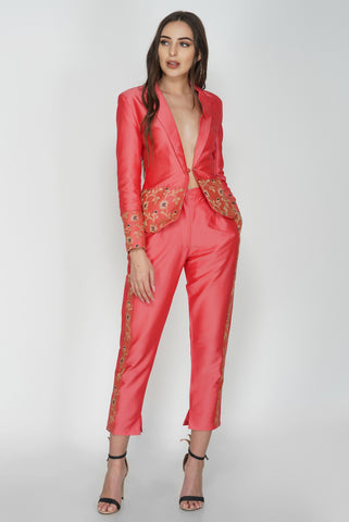 Tailored Cropped Trousers From Nesavaali London