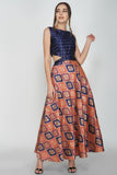 Cut Out Two Piece Sleeveless Maxi From Nesavaali London