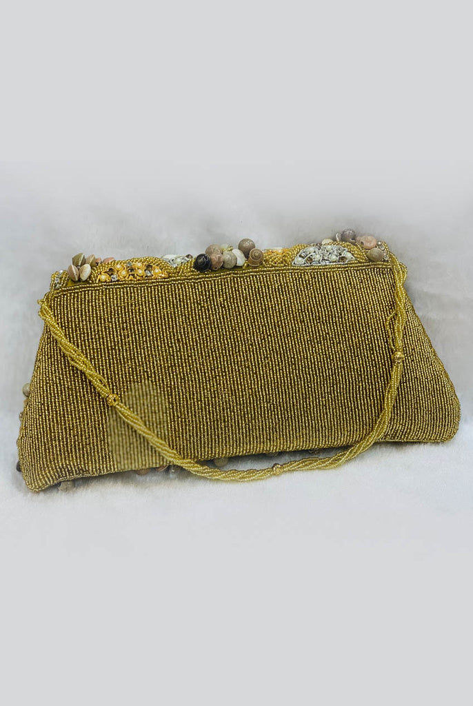 Evening Party Handmade Sea Shell Clutch From Nesavaali London