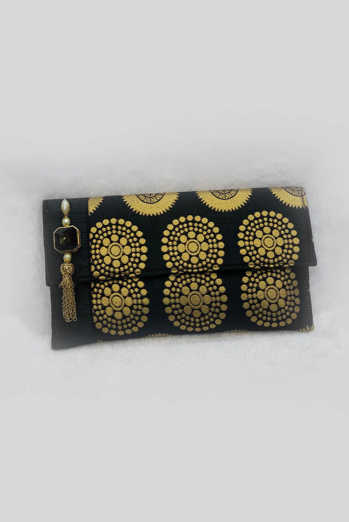 Brocade Evening & Party Clutch Bag From Nesavaali London