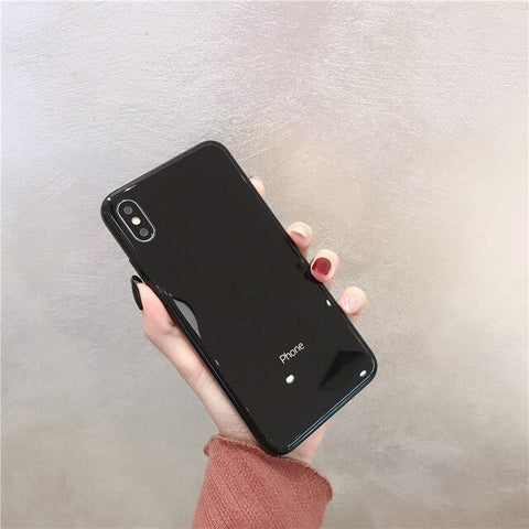 Mirror Tempered Phone Case
