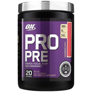pro pre best pre workout