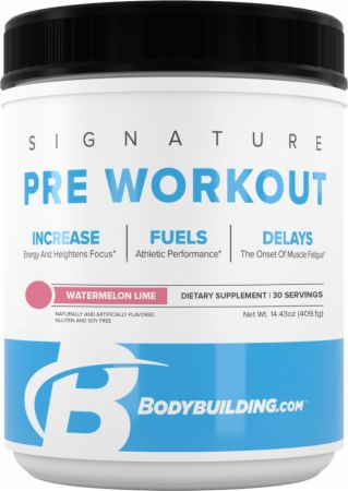 signature pre-workout