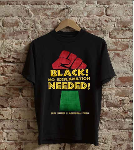 Dual Citizen X Millennials Finest BHM Mens T-Shirt