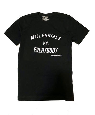 Millennials VS Everybody Mens T-Shirt