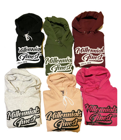 Millennials Finest Printed Unisex Hoodies