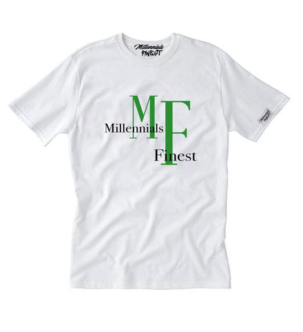 Millennials Finest MF Unisex Tee (Green)