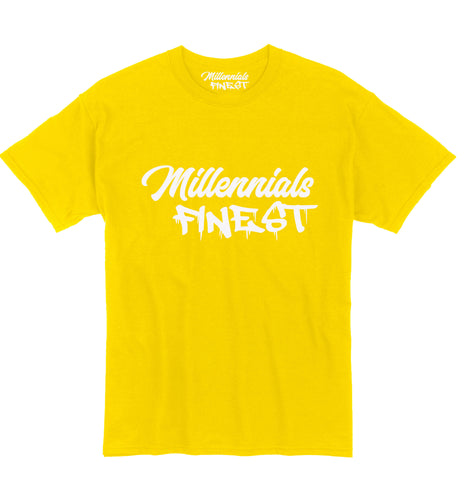 Millennials Finest Signature Yellow Tee