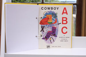 Cowboy ABC Notebook