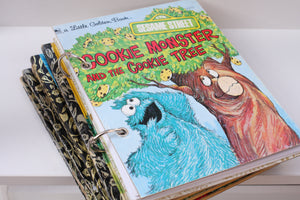 Cookie Monster and the Cookie Tree Notebook