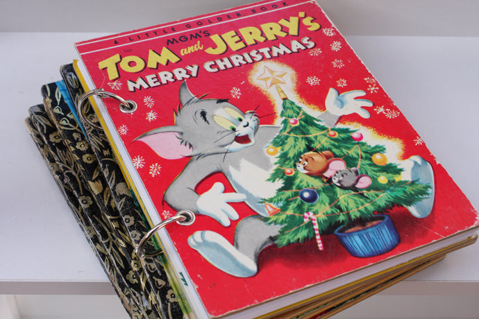 Tom and Jerry Merry Christmas Notebook