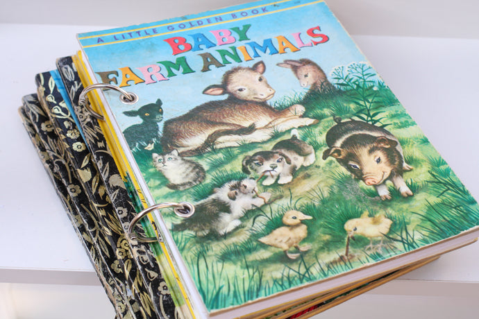 Baby Farm Animals Notebook