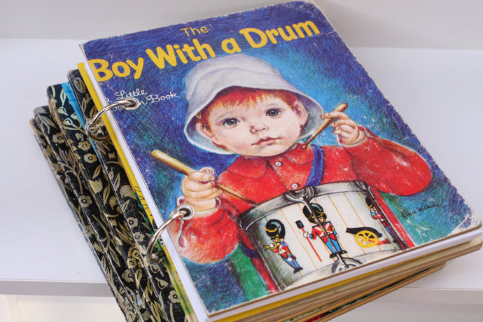 The Boy With A Drum Notebook