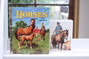 Horses Book Card Set