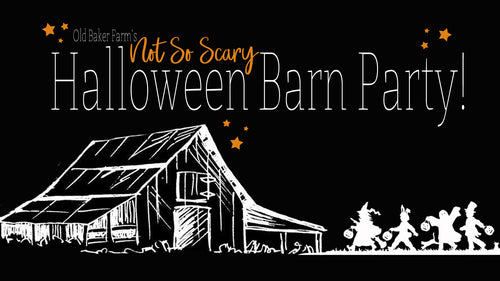 Not So Scary Barn Party Ticket