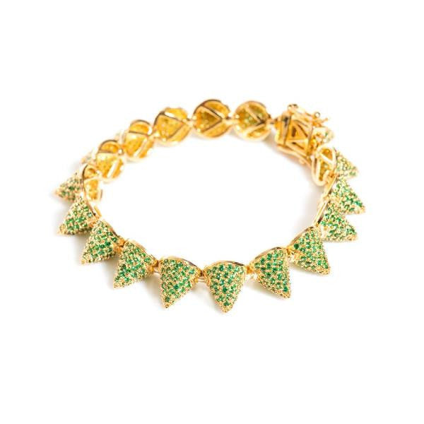 Pave Small Cone Bracelet