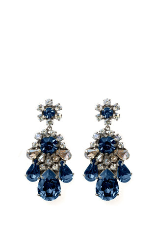 Ds Blue Earring