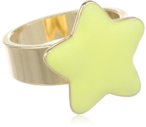 Enamel Star Ring