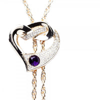 Hera Purple Necklace