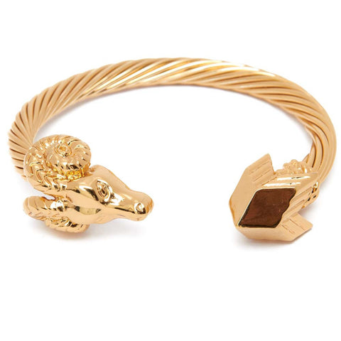Aries Ram Head Bracelet