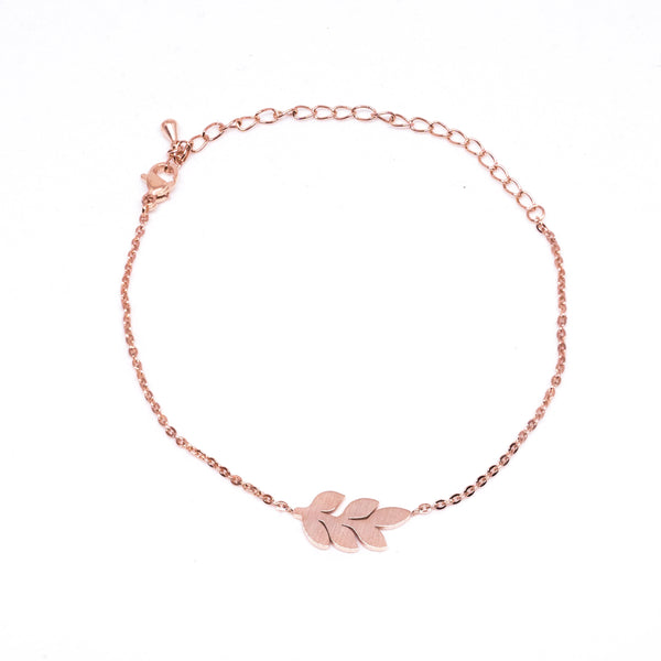 Twig Rose Gold Bracelet