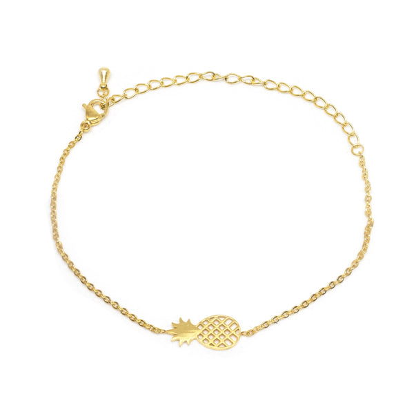 Pineapple Gold Bracelet