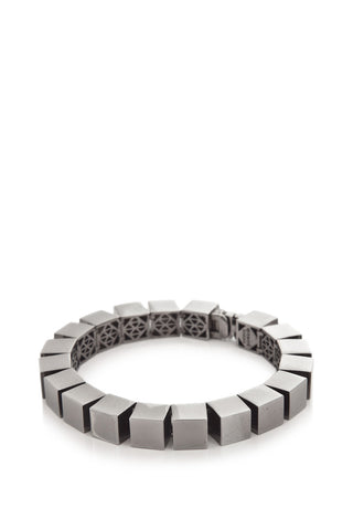 Small Smooth Cube Bracelet