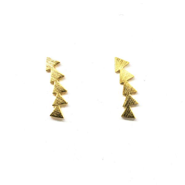 Arrow Gold Earrings