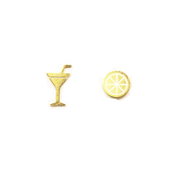 Lime Cocktail Earrings