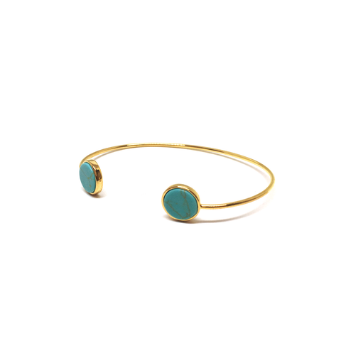 Turquoise Pill Cuff