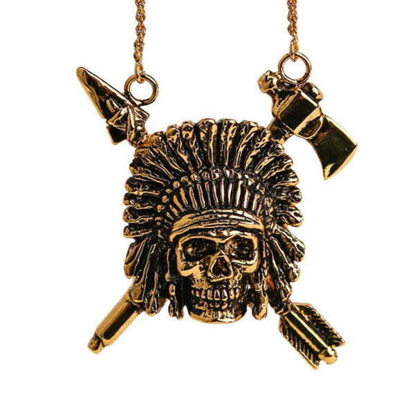 INDIAN CHIEF PENDANT
