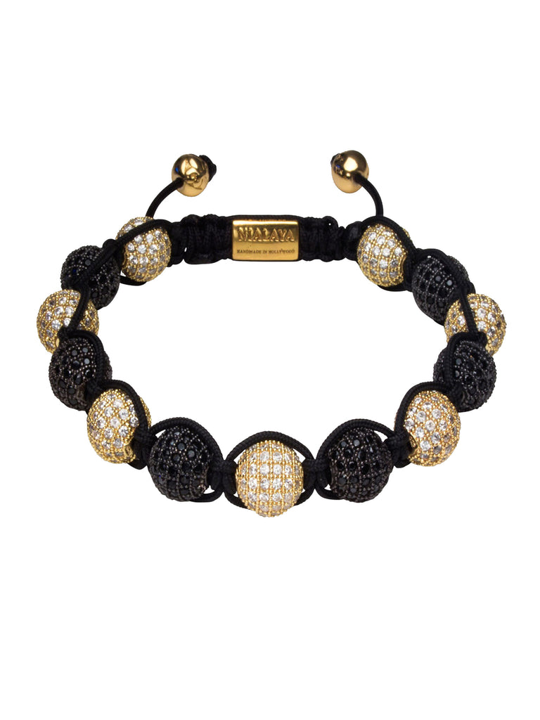 Alternate Pave Crystal Bracelet