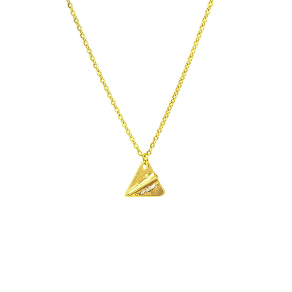 Paperplane Necklace