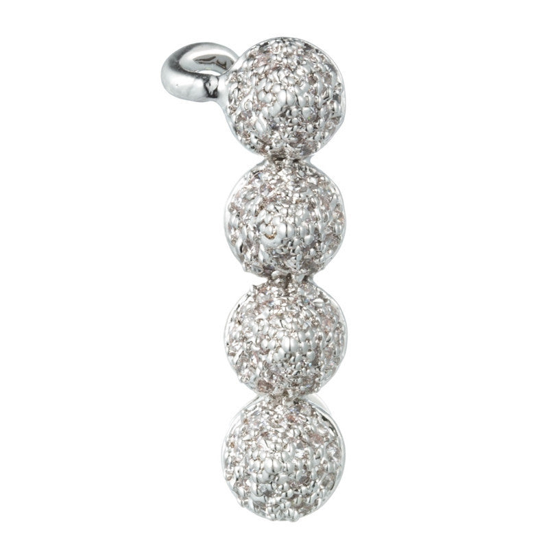 Pave Small Cone Ear Cuff